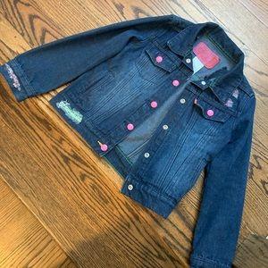 "Girls Levi's ""Crayola"" denim jacket"